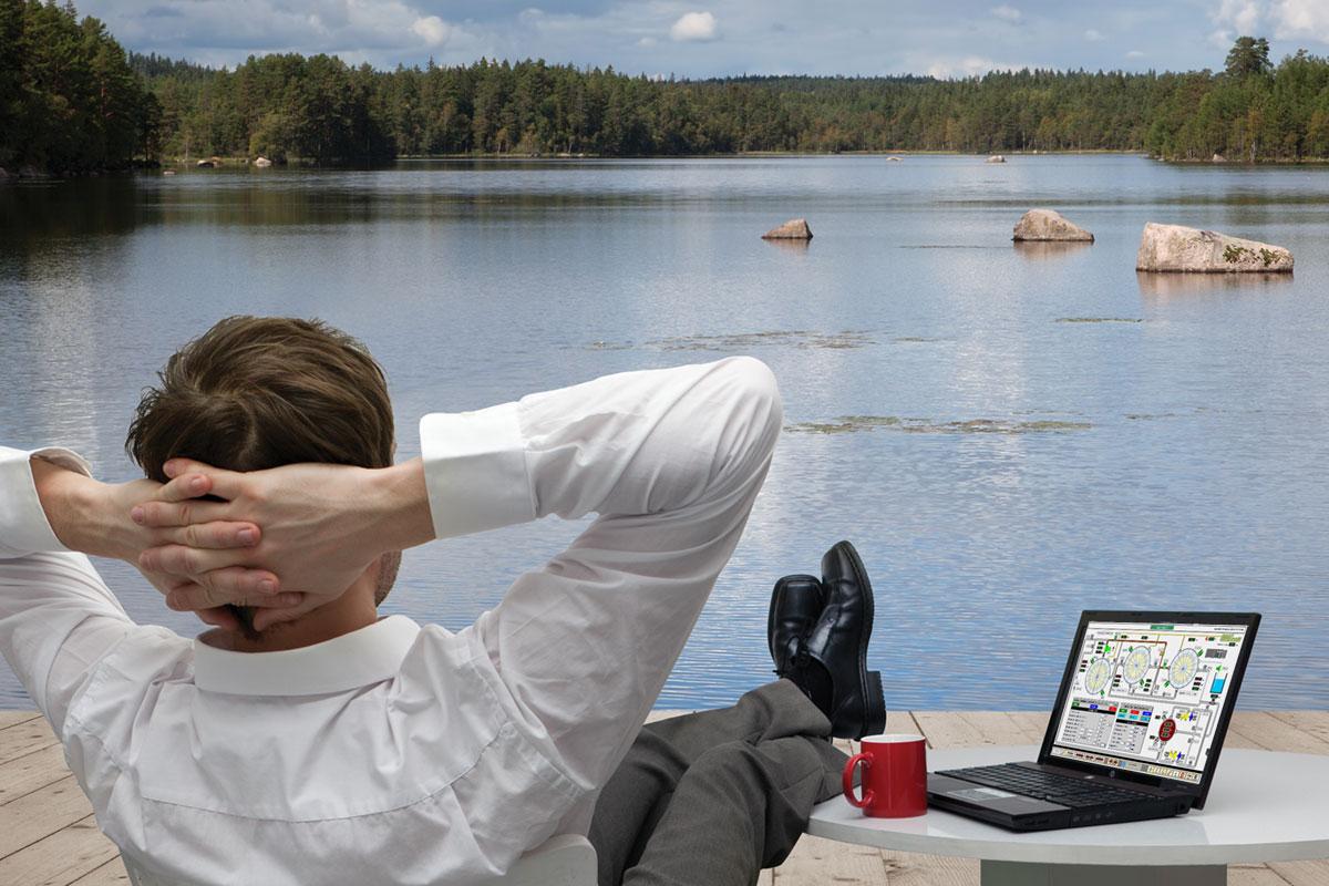 monitoraggio in relax